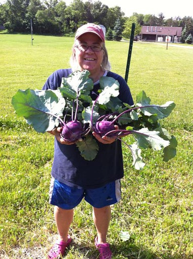 Joan And Kohlrabi