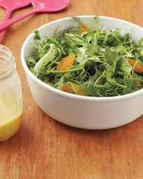 Fennel Arugula Salad With Oranges